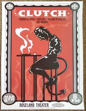 CLUTCH 2008 Gig POSTER Portland Oregon Concert