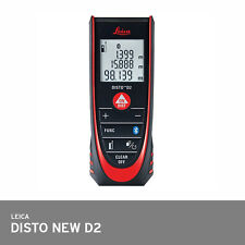 Leica Disto D2 2016 Model Laser Distance Meter 100m Bluetooth +/-1.5mm Economy
