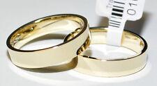 333 Oro - Giallo - Classico Fedi Matrimoniali - Nuziali - Prezzo a Coppia -