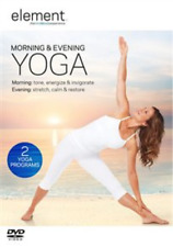 Element: Morning & Evening Yoga  DVD NEW
