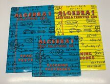 Teaching Textbooks Algebra 1 (1.0) Lecture & Practice Cds Plus Solutions Cds