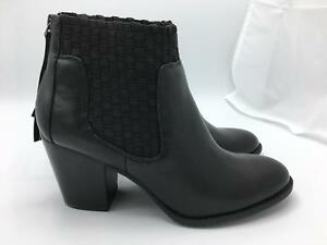 Jessica Simpson Yeni Ankle Bootie (1456) Black Nappa Leather Size 8.5M