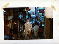 Photo originale Frederick Stafford Tokyo OSS 117 scooter