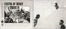 Fistful of Mercy - As I Call You Down - Promotional Giveaway Cd Like New - 1223