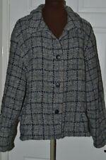 Weave of the Irish Women's Size XL Wool Rich Tweed Jacket
