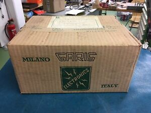 VERY RARE VINTAGE NOS STILL FACTORY SEALED GARIS OF ITALY TURNTABLE