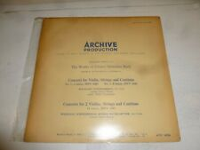 WOLFGANG SCHNEIDERHAN - Johann Sebastian Bach - The Works - Series K - Vinyl LP