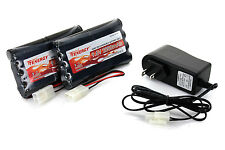 Combo: 2 Tenergy 9.6V 2000mAh Nimh Battery for RC Car + Tenergy Simple Charger