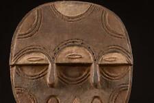 7581 Afrikanishe Alte Teke Maske DR Kongo Afrika