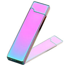 NS  Electric USB Rechargeable Cigarette Cigar Lighter Windproof Flameless