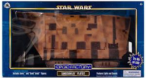 New Disney Parks Star Wars Droid Factory Sandcrawler Playset - Jawa Gonk Droid