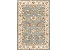Wells Blue Jaipur Area Rug 3' x 5' Home Decorators Collection 100% Wool Floral