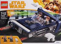 LEGO StarWars 75209 Han Solo's Landspeeder QI'RA Han Solo Corellian Hound NEU
