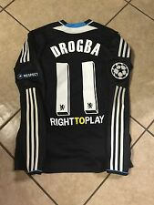 Chelsea Drogba Match Unworn Player Issue 9 Techfit Montreal Jersey Adidas Shirt