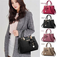 Women Fashion PU Leather Shoulder Bag Crossbody Handbag Tote Messenger Satchel