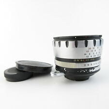 Für Exa Exakta Meyer Optik Görlitz Domiron 2/50 Q1 Objektiv lens + caps