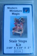HANDSOMEL DOLLHOUSE MINIATURE STAIR STEPS PLANT STAND, NEW!