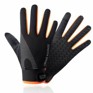 Bicycle Gloves Quick Dry Full Finger Touchscreen Unisex Breathable Mittens Warm