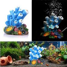 Aquarium Resin Simulation Coral Bubble Air Stone Marine Fish Tank Ornament Decor