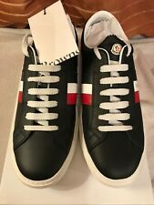Moncler new  Monaco men's trainers brand new in box uk size 8 (42) navy blue