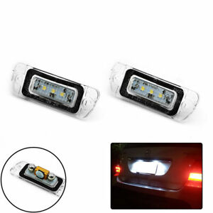 Vehicles Number License Plate Lamp LED Lights Assembly For Mercedes-Benz X164 x2