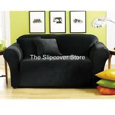 NEW! SOFA Surefit Black STONE Living Room Slipcover