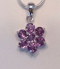 Beautiful Amethyst Pendant and Necklace
