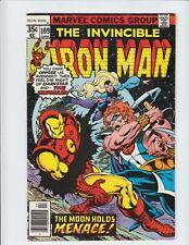 The Invincible Iron Man #109 VF/NM 9.0 vs Darkstar and The Vangaurd 1977,Marvel