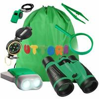 UTTORA Outdoor Explorer Kit Gifts Toys Kids Binoculars Set, Outdoor Exploration