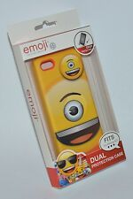 EMOJI BRAND YELLOW ONE EYED SMILEY IPHONE 5C CASE SLEEVE DUAL PROTECTION MINION
