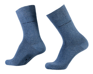 Tom Tailor - Business Socken - 6 Paar - jeansblau - Größe 39/42