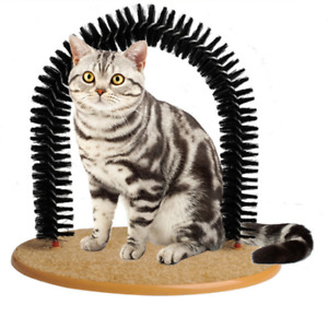 Pet Cat Arch Hair Grooming Scratcher Toy Scratching Pet Cat Scratches Hair Brush