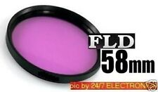 FILTER FL-D 58mm FLD FD -> Camera Video Camcorder: Fluorescent Light Correction