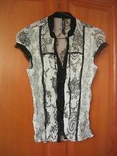 Beautiful size 8 River Island oriental style shirt