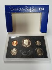 PS0583BMC US MINT PROOF 5 COIN SET 1983 BASE METAL CAMEO FRESH OGP SHIPS FREE!!!