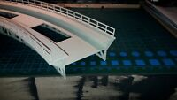 Pont Métallique HO  Courbe 357mm