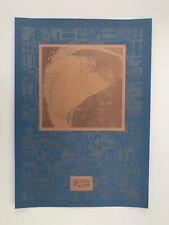 GUSTAV KLIMT,'DANAE,1907-8' RARE 1990's SILKSCREEN ART PRINT
