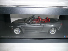 BMW M4 F83 CABRIO MINERALGRAU 1:18 PARAGON DEALER VERY RARE