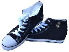 Herren-High-Top-Sneaker aus Canvas/Segeltuch Größe 43