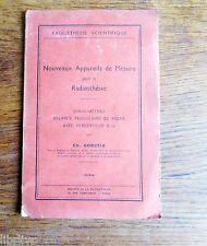 Nouveaux appareils de mesure pour la radiesthésie ionisomètres - Rare 1939