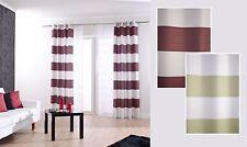 Ösenschal Homing Burbank Vorhang OEKO-TEX blickdicht 140x245 Streifen 3 Farben