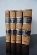 Astronomie populaire  oeuvres de François ARAGO  1854 4 volumes