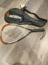 EKTELON Powerfan ENERGY Racquetball Racquet ~ 900 Power Level ~ Excellent Kit