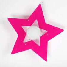 Lampadario Stella Vari colori in plexiglass Plafoniera per cameretta bambini E27