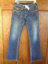 $284 TRUE RELIGION BILLY BIG T MEN'S DENIM JEANS SZ 29 SEAT 34 (ACTUAL 30X34)