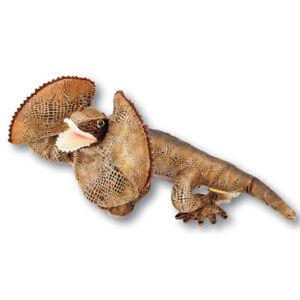 "Philly the Frill Neck lizard Soft Plush Toy 15""/38cm Bocchetta Plush Toys"