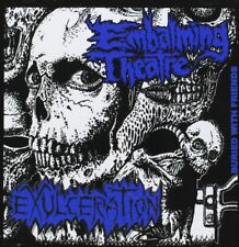 EMBALMING THEATRE | EXULCERATION - SPLIT  CD NEW+