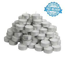 IKEA Glimma Pack Of 100 Tea Lights Candles - 4 Hours Burning Time - 38mm Wide