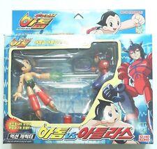 "2003 TAKARA Mighty Atom Astro Boy Vs Atlas Real Action Figure 4.5"""
