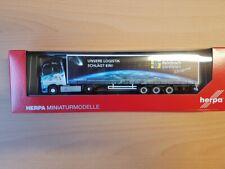 """Herpa 309875 - 1/87 Volvo FH GL XL Gardinenplanen-Sattelzug """"Steinbach Logistik"""""""